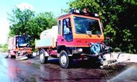 Проделки погоды вынуждают мыть дороги дважды в день, фото 1