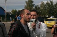 Пьяными за руль на глазах у ГИБДД, фото 1