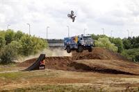 Мотоциклист перепрыгнул летящий КАМАЗ с Владимиром Чагиным, фото 3