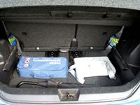 Багажник (500 л) при отодвинутом вперед диване