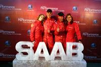 Экстремальная Saab Perfomance Team выступила в Москве, фото 5