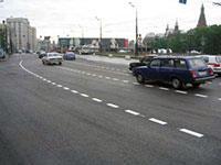 В столице началось обновление дорожной разметки, фото 1