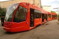 В Москве появился первый скоростной низкопольный трамвай, фото 1
