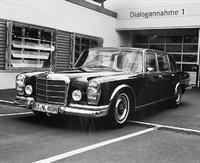 Mercedes W100 Леонида Ильича Брежнева