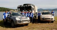 Два Porsche Cayenne S победили в  III Международном ралли Транссибирь 2006, фото 1