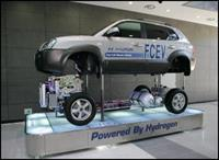 Hyundai Tucson Fuel Cell Vehicle - победитель Challenge Bibendum 2007, фото 1