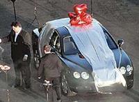 Подаренный Bentley
