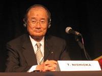 Председатель совета директоров Mitsubishi Motors Corporations Такаши Нишиока (Takashi Nishioka)