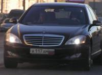 Mercedes Ксении Собчак
