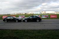 Экстремальная Saab Perfomance Team выступила в Москве, фото 2