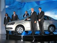 Презентация седана Volkswagen Polo в Москве