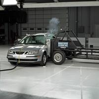 Saab 9-3 Sport Sedan 2007-го модельного года завоевывает высшую награду института IIHS , фото 1