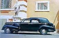 Cadillac 90 Series Town Car 1938 года
