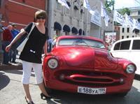 Девятое ежегодное ралли классических автомобилей в Москве , фото 9
