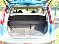 Полки багажника пластиком вверх