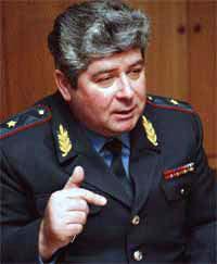 Генерал-майор московского ГИБДД Сергей Казанцев