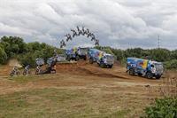 Мотоциклист перепрыгнул летящий КАМАЗ с Владимиром Чагиным, фото 4