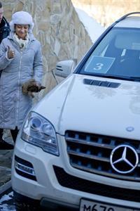 Тест-драйв Mercedes-Benz в «Целеево», фото 8