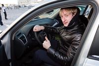 Евгений Плющенко в подаренном ему Audi Q5
