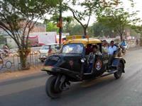 Испытания нового концепта индийского автопрома – шпионское фото.