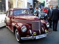 Девятое ежегодное ралли классических автомобилей в Москве , фото 19