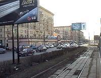 Ленинградский проспект реконструируют к середине 2009 года, фото 1