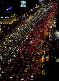 Центр Москвы закроют для автомобилей, фото 1