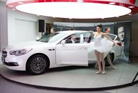 «У Сервис+» представил своим гостям представительский седан KIA Quoris, фото 3