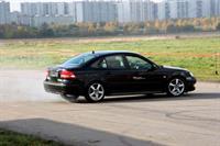 Экстремальная Saab Perfomance Team выступила в Москве, фото 1