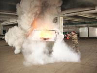 Как спасти горящий автомобиль, фото 1