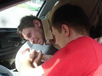 Приемы самообороны в автомобиле, фото 4