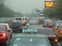 В Китае образовалась 100-километровая пробка, фото 1