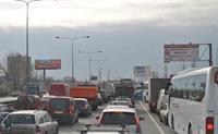 Скорость движения автомобилей в Москве находится ниже критической отметки, фото 1