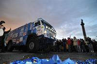 Ралли-рейды. Внедорожный марафон Transorientale. Лидеры грузового зачета в гостях в Елабуге., фото 3