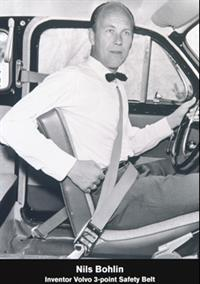 Трехточечный ремень безопасности придумал Нильс Болин, инженер компании Volvo, фото 6