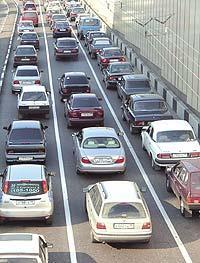 Экологи ограничат число машин в центре Москвы, фото 1