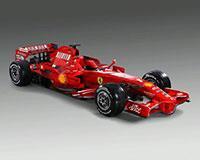 Ferrari F-2008 уже ждет соперников, фото 1