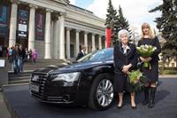 Audi подарила ГМИИ им. Пушкина обновленный А8, фото 1