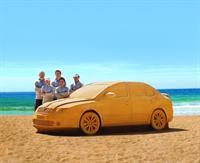 В Австралии построили Skoda Octavia RS из песка, фото 1
