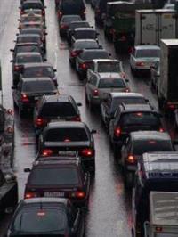 Автомобильное движение в Москве вчера было парализовано, фото 1