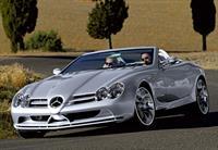 Кабриолет Mercedes SLR McLaren уходит с конвейера, фото 1