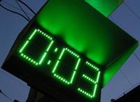 На некоторых московских светофорах появились табло обратного отсчета времени для водителей, фото 1