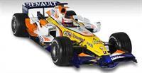 Команда ING Renault F1 Team демонстрирует новый болид R27, фото 1