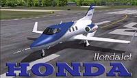 Первый самолет в истории фирмы Honda